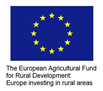 The European Agricultural Fund for Rural Development logo
