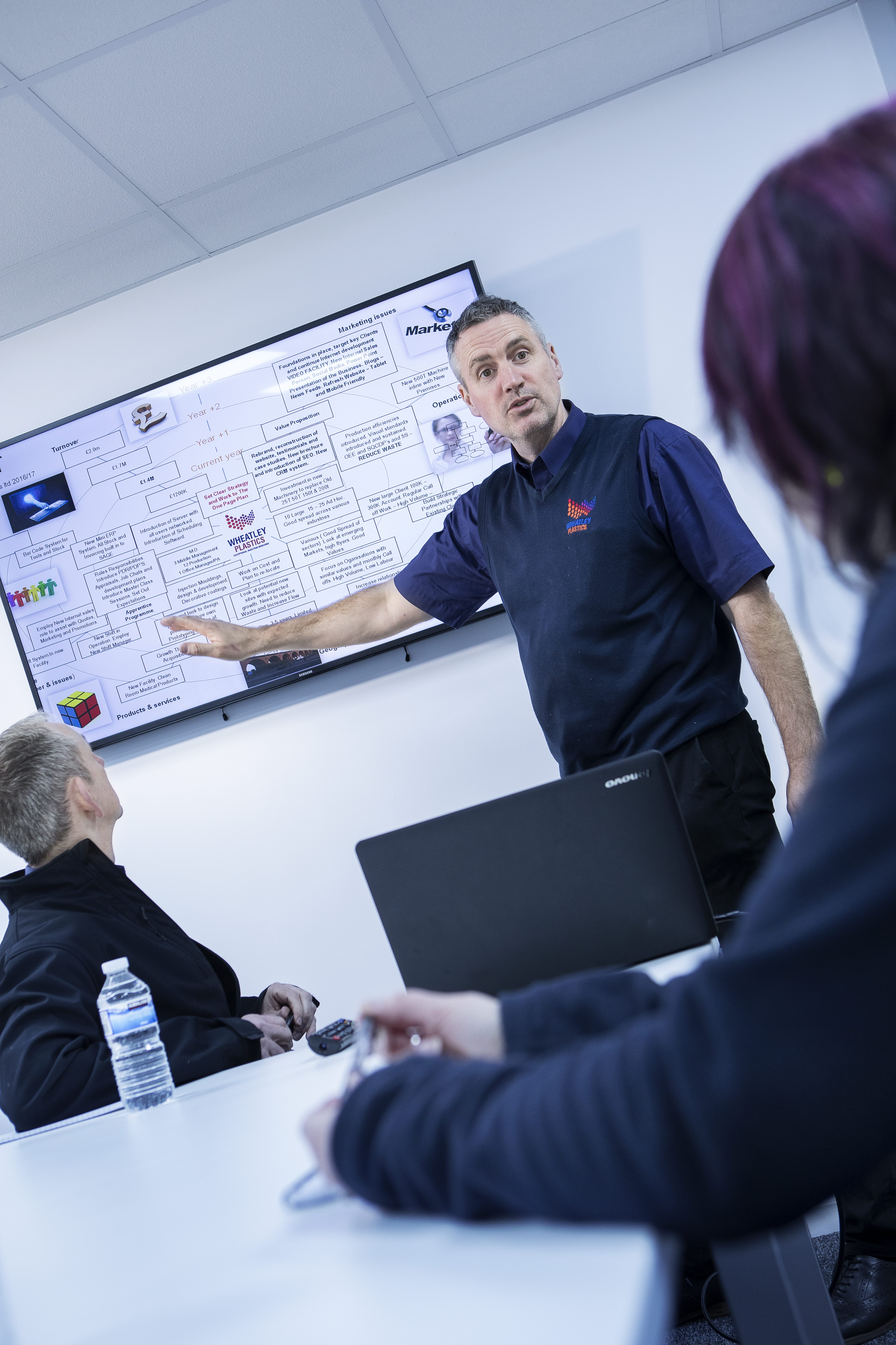 Wheatley Plastics using visual management