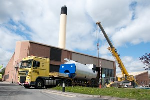 new-combination-boiler-arriving-for-installation-at-the-energy-centre