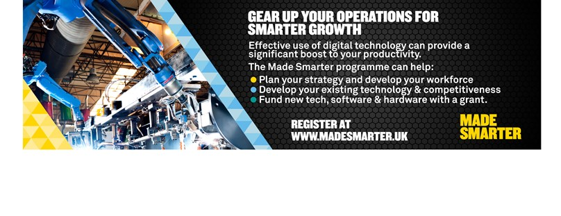 Made Smarter UK - Gear up your operations for smarter growth