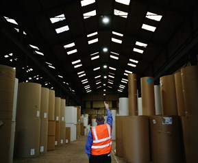 Cardboard manufacturer boxes up energy savings
